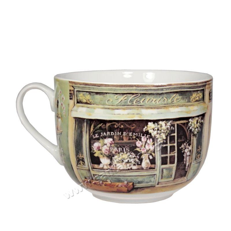 Hrnek Fleuriste 400 ml porcelánový Casa de Engel