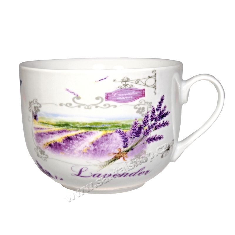 Hrnek Lavender manor 400 ml porcelánový Casa de Engel
