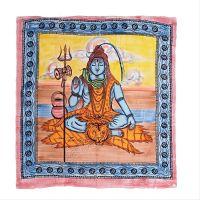Přehoz Shiva malovaný 240 x 210 cm