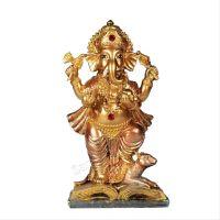 Soška Ganéša (Ganesh) resin 15 cm na knize Čína