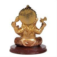 Soška Ganéša (Ganesh) resin 10 cm s činely Čína