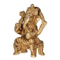 Soška Ganesh kov 07 cm