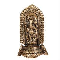 Soška Ganéša (Ganesh) kov 09 cm Indie
