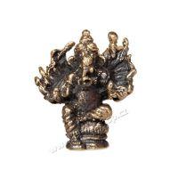 Soška Ganesh kov mini 3 cm