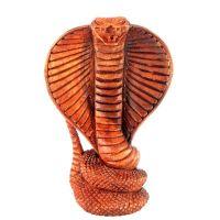 Soška Kobra dřevo 17 cm Indonesie