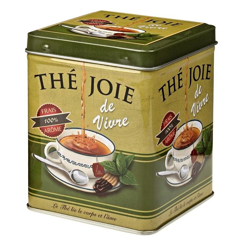 Dóza na čaj Čajová radost 100 g plech Oxalis