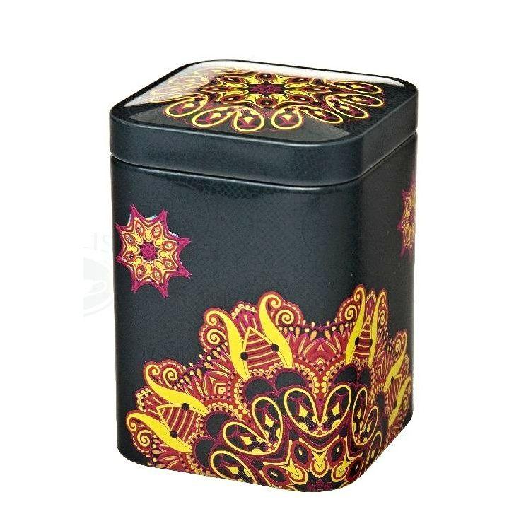 Dóza na čaj Magie 50 g oranžová plech Oxalis