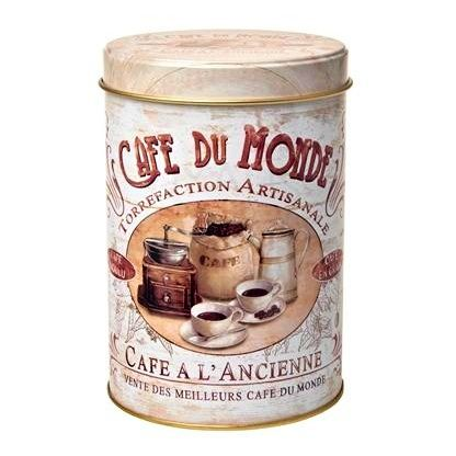 Dóza na kávu Salon kávy 200 g plech Oxalis
