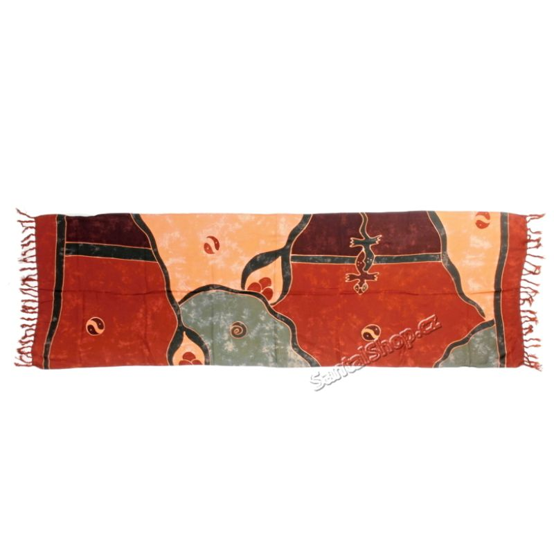 Šátek 1/2 sarong, pareo 115 Indonesie