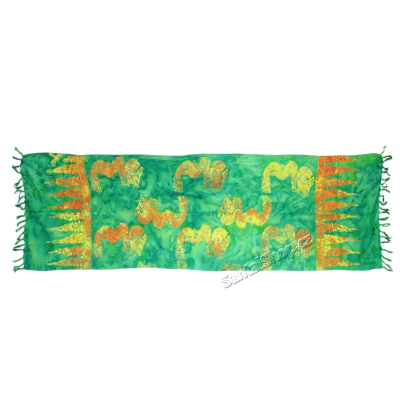 Šátek 1/2 sarong, pareo 118 Indonesie