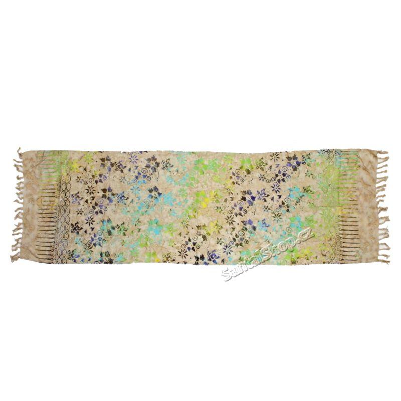 Šátek 1/2 sarong, pareo 124 Indonesie