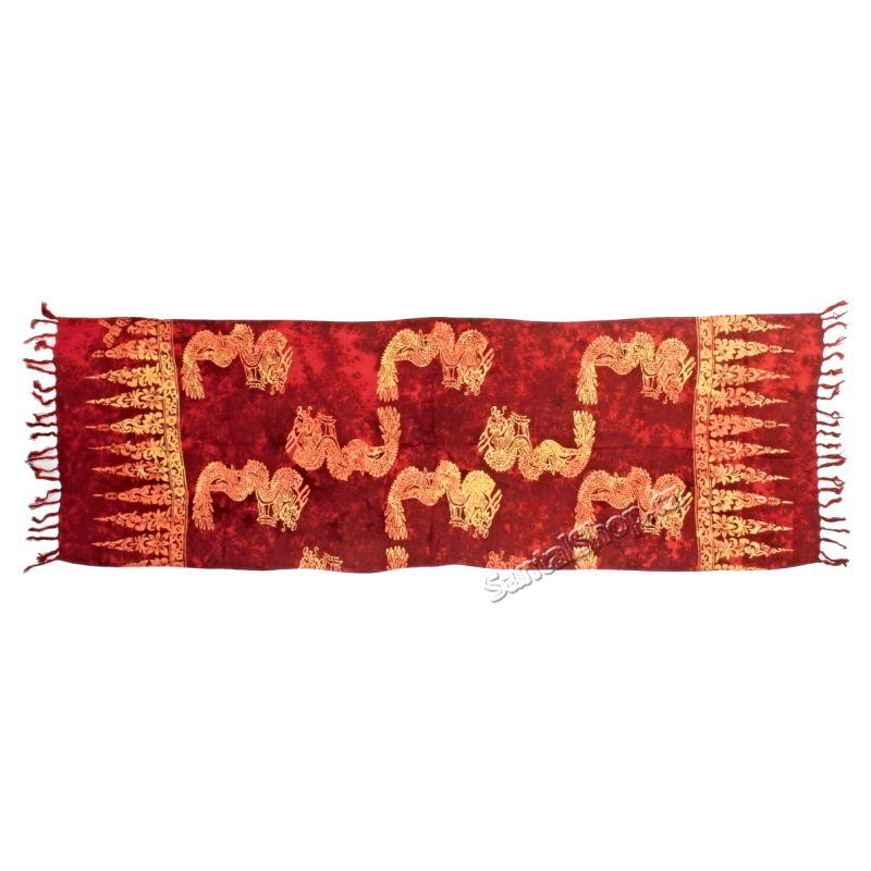 Šátek 1/2 sarong, pareo 127 Indonesie