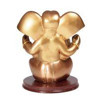 Soška Ganéša (Ganesh) resin 13 cm zlatý Čína