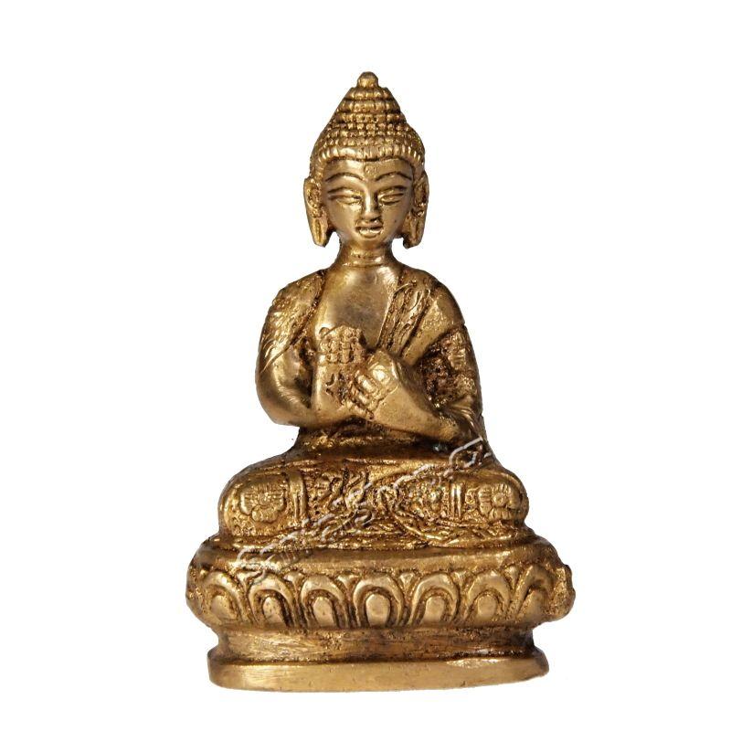 Soška Buddha kov 08 cm I Indie