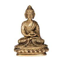 Soška Buddha kov 10 cm I