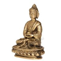 Soška Buddha kov 10 cm I Indie
