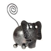 Soška Slon kov 09 cm kulička