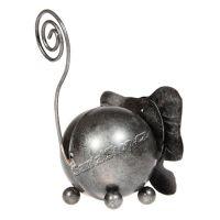 Soška Slon kov 09 cm kulička Indonesie